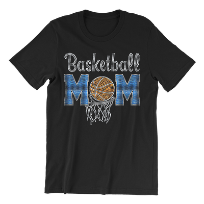 Basketball Mom Rhinestone Unisex Shirt