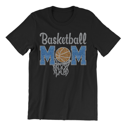 Basketball Mom Bling Unisex Shirt