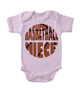 Basketball Niece Infant One-Piece
