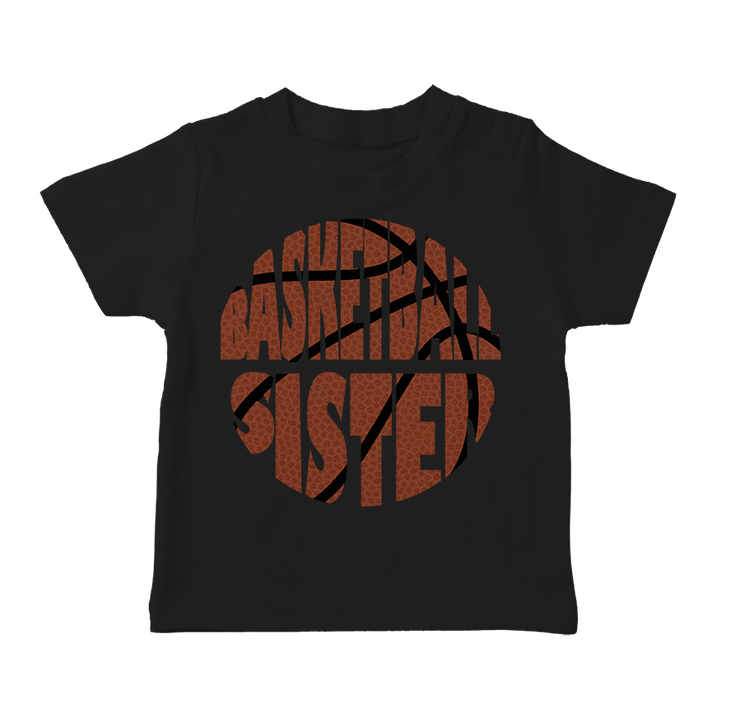 Basketball Sister Infant T-Shirt