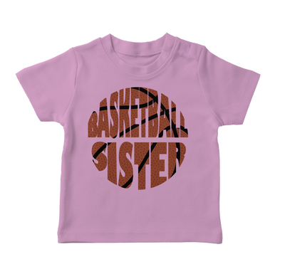 Basketball Sister Toddler T-Shirt