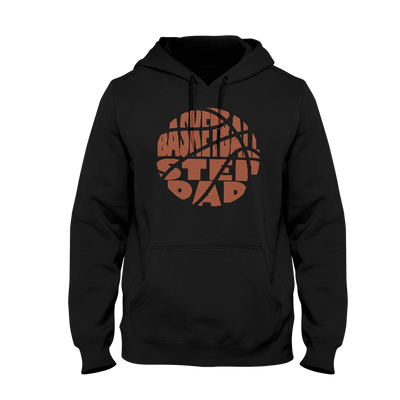 Basketball Stepdad Men's Hoodie