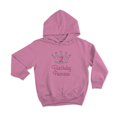 Birthday Princess Bling Toddler Hoodie