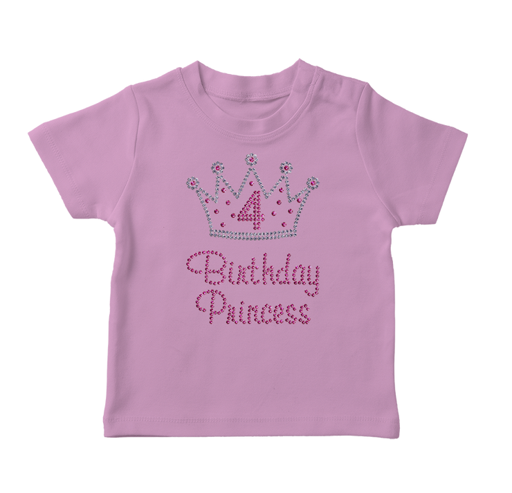 Birthday Princess Bling Toddler T-Shirt