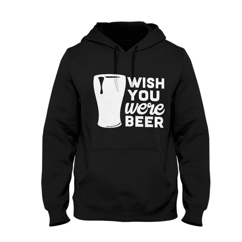 Wish You Were Beer Men's Hoodie