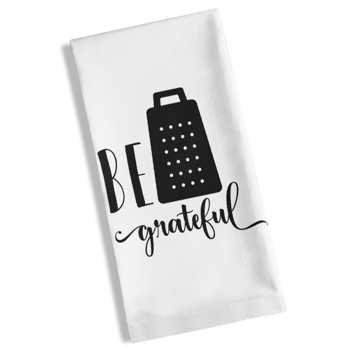 Be Grateful Kitchen Towel