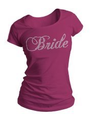 Bride Bling Crew Neck Shirt