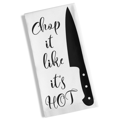 Chop It Like It's Hot Kitchen Towel