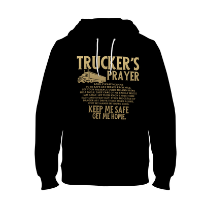 Trucker's Prayer Men's Hoodie