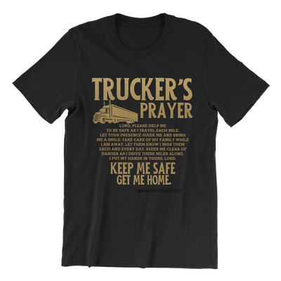 Trucker's Prayer Crew Neck Shirt