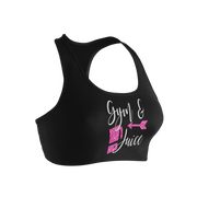 Gym & Juice Ladies' Nylon/Spandex Sports Bra