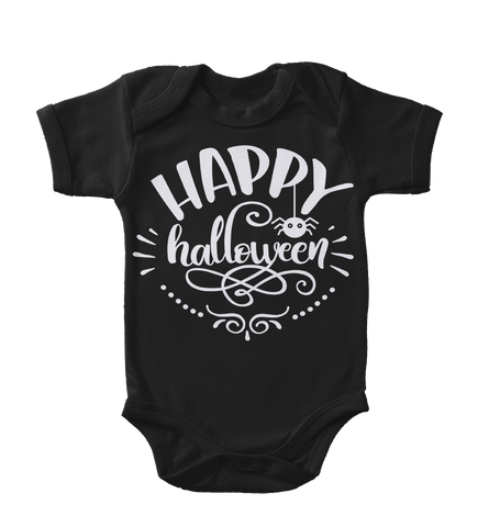 Happy Halloween Glow-In-The-Dark Infant One-Piece