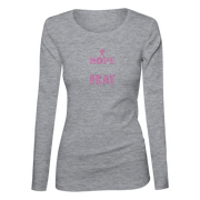 Hope Love Pray Bling Ladies Long Sleeve Shirt