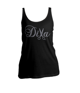 Diva Hair Stylist Bling Ladies Tank Top