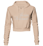 Junior Bridesmaid Bling Cropped Hoodie