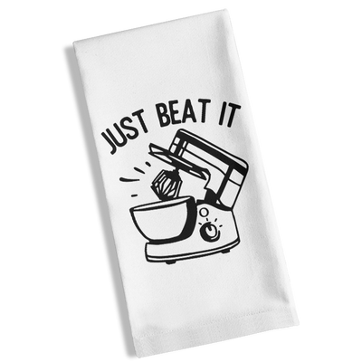 Just Beat It Kitchen Towel