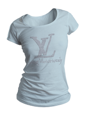 Living Victoriously Bling Crew Neck Shirt