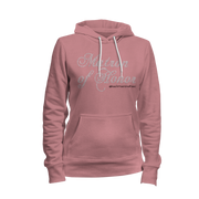 Matron of Honor Rhinestone Ladies Hoodie