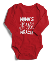 Mama's Little Miracle Long Sleeve Infant One-Piece