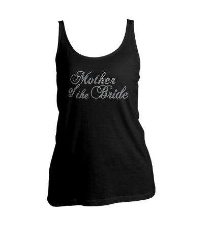 Mother of the Bride Bling Ladies Tank Top