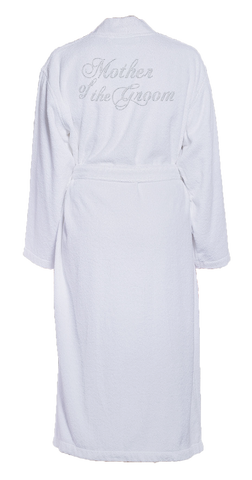 Mother of the Groom Bling Turkish Cotton Bathrobe