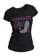 Paparazzi Chic Bling Crew Neck Shirt