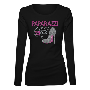 Paparazzi Chic Bling Ladies Long Sleeve Shirt
