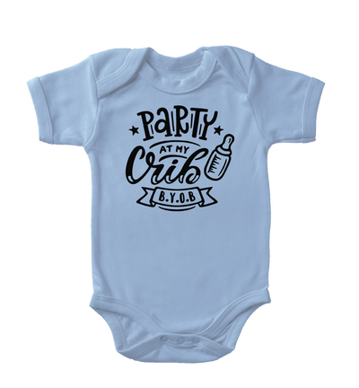 Party At My Crib Infant One-Piece