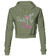 Party Posse Bling Cropped Hoodie