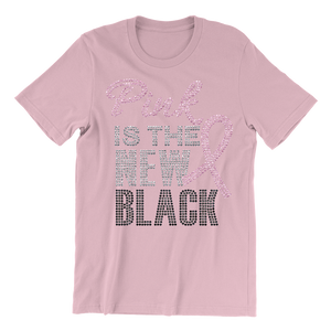 Pink Is The New Black Bling Unisex Shirt