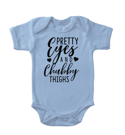Pretty Eyes And Chubby Thighs Infant One-Piece
