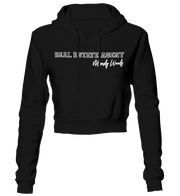 Real Estate Agent Cropped Hoodie