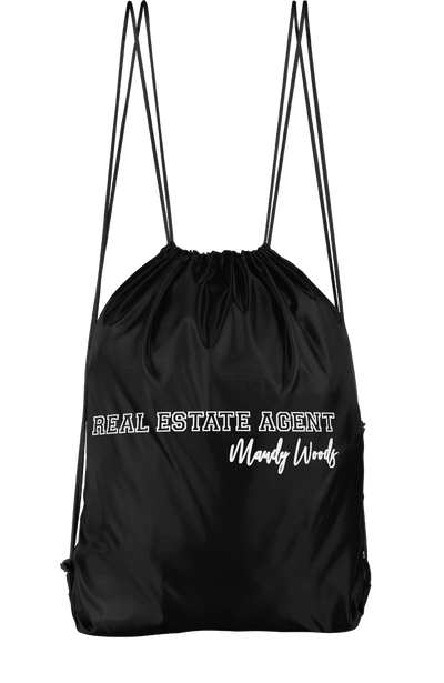 Real Estate Agent Drawstring Backpack