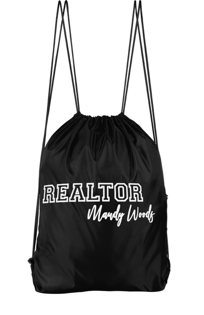 Realtor Drawstring Backpack
