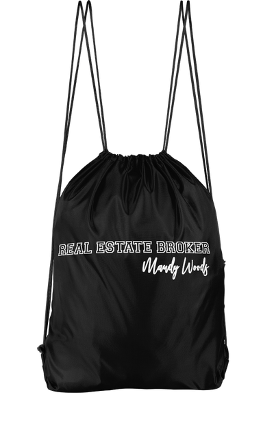 Real Estate Broker Drawstring Backpack