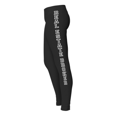 Real Estate Broker Ladies' Cotton/Spandex Legging