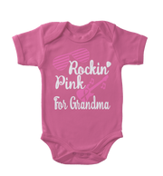 Rockin' Pink For Grandma Infant One-Piece
