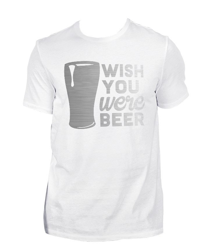 Wish You Were Beer Men's T-Shirt