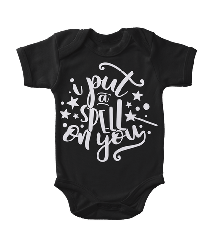 I Put A Spell On You Glow-In-The-Dark Infant One-Piece