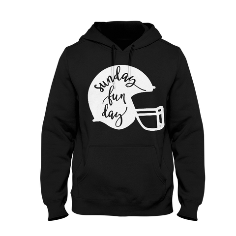Sunday Fun Day Ladies Hoodie