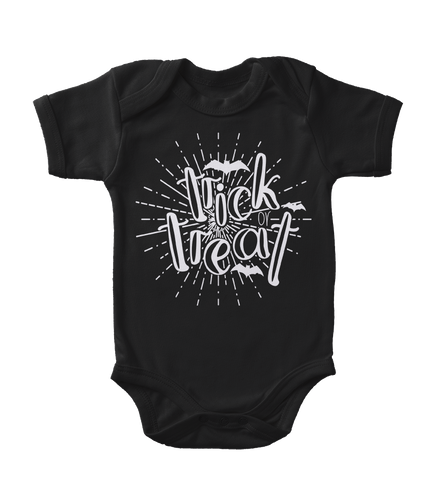 Trick Or Treat Glow-In-The-Dark Infant One-Piece
