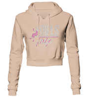 Girls Trip w/Lady Bling Cropped Hoodie