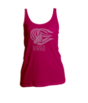 Virgo Horoscope Bling Ladies Tank Top