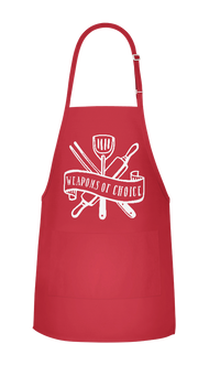 My Weapons Of Choice Apron