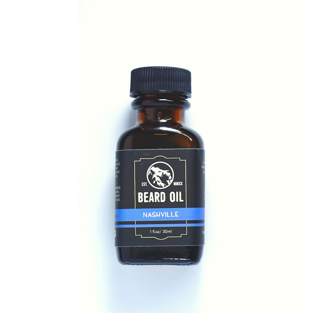 Beard & Mustache Oil - Nashville