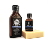 Fragrance Set - Beard Oil, Body Soap, & Aftershave