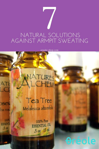 Natural Remedy Against Armpit Sweat