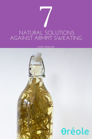 Natural Remedy For excessive sweating Vinegar