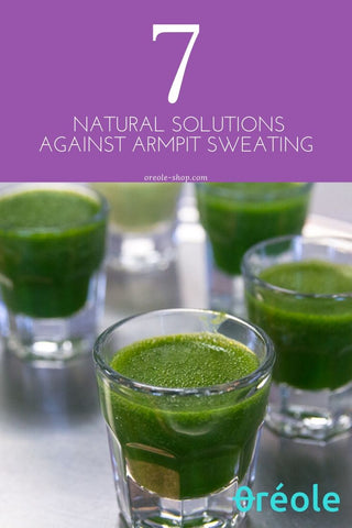 Natural Remedies against sweating wheatgrass