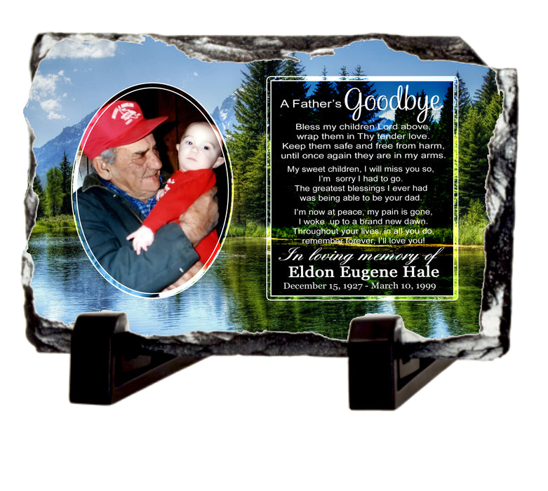 A Father's Goodbye - Memorial Gift